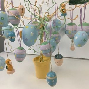 Easter Egg Ornamental Tree! 🐇🐥